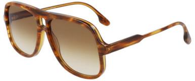VB620S - Caramel Pearl/Brown Gradient Lenses