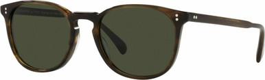 Finley Esq OV5298SU - Bark/Green Glass Lenses