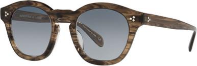 Boudreau L.A OV5382SU - Sepia Smoke/Soft Teal Gradient Mirror Lenses
