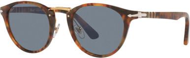 PO3108S - Caffe/Light Blue Glass Lenses