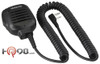 KMC-45 Heavy duty speaker microphone with built-in 2.5mm miniature earphone jack that replaces discontinued model KMC-17. Kenwood even built this one to meet military specs.