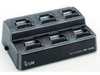 The BC-197-02 is a 6 slot rapid charger. It will accomodate up to six radios and rapid charge all units in 1.5 hrs. Price includes the main charging unit, power supply and six matching adapter cups.