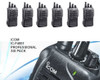 IC-F4001 Six Pack of professional UHF radios is a great value. This 4 watt package perfect for your business.