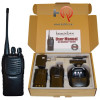 Blackbox Plus is compatible with most popular VHF two-way radios. Some programming may be required to match your frequencies. The Blackbox radio is also compatible with the same accessories used with the Motorola CP150, CP200, PR400 and XU1000. No monthly fees or service contracts required.
