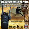 Secured connection for BlackBox Plus Radios.  Make sure it is tight and right.
