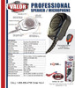 Valor Remote Speaker Mic spec sheet for this great unit with large front PTT button. Great for gloves or anyone needing a quick, easy to find Push To Talk button.