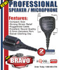 Talk and listen without ever reaching for your radio! The OEM Bravo Remote Speaker Microphone uses a handy mic that clips on your shirt or collar for convenient use.
