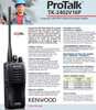 Kenwood TK-2402V16P Compact VHF FM 5-Watt Portable Radios are a great value.
