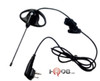 The 56518 is comfortable for extended wear, this compact and durable earpiece allows users to receive communication discreetly in low-noise environments.