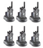 Motorola CLS-1410 six pack of two way radios are small, light, and easy to use. This CLS radio is designed specifically for businesses. The CLS1410 offers 4 channels and 1 watt and Vibra Call.