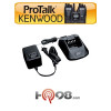Kenwood KSC-25 Rapid Smart Charger 110V Rapid Single Unit Tri-Chemistry Charger for NiCad, NiMH and Li-ion Batteries.