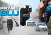The PRYME BLU BT-502 Adapter is compatible with thousands of off the shelf consumer audio accessories and pairs easily, allowing you to operate your Vertex wirelessly.