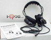 Kenwood KHS-10-OH Noise-Reduction Headset has an over-the-head type headband and has heavy-duty noise-reduction of 24 db.