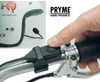 The Pryme SPM-800 series installs into helmet using only two-sided fastening tape. No drilling of holes is required. The mModular features allow the mic system to be easily disconnected from the motorcycle.