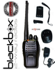 Blackbox Bantam UHF Two Way Radio. ... The Bantam UHF radio has frequency range of 400 to 470MHz - Free Shipping