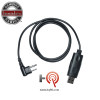 Premium Programming Cable with USB port for Bantam radios. Uses a K1 (Kenwood) 2-pin connector, the Plus uses a M1 (Motorola) 2 Pin Connector.