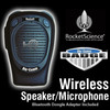 The BluComm BADGE is a Ruggedized Speaker Mic with Push to Talk button and adjustable Volume Control.  The Badge also has a 2.5mm Earpiece Port. This kit includes the charger for Badge and Dongle plus clips and holsters.