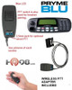 These Pryme Blu Adapters allow you to use a compatible wireless Bluetooth headset or other audio accessory with a MOBILE two-way radio.  The convenient wireless PTT button makes this one easy to use.