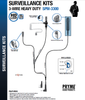 SPM-3300 Micro lapel mic can transmit under clothing and has a Barrel PTT form fits for easy transmission.  The TWIST CONNECT acoustic tube assembly for hygiene and multiple users and has a reinforced earphone clip.