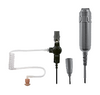 This SPM-3300 kit is easier to use and conceal under clothing because each component of the kit (earphone, microphone and Push-to-Talk) is connected to the two-way radio via a separate cable. This allows you to stay in contact without drawing too much attention to your two-way radio.