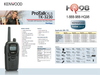 Kenwood TK3230 Protalk XLS Spec Sheet and information guide. Check out all these features: