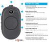 2-Way Radios Motorola CLP1060 Lightweight Portable Two-Way Radio with Bluetooth - 6 Channels On-Site Business Two-Way Radio