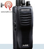 The Six Pack of Kenwood TK-2402V16P portable radio offers 16 channels, high power output, and an advanced lithium battery. This is a relatively small and lightweight business radio, yet is extremely durable (built to IP54/55 and military 810 C, D, E, and F standards), making it a great choice for a wide array of environments, from light duty operations, to the toughest construction jobs.