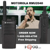 RMU2040 by Motorola meets Military Standard 810 C, D, E, F and G plus IP54/55 and these radios undergo Motorola's unique Accelerated Life Testing (ALT). This rigorous laboratory testing simulates up to 5 years of field use.