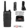 The Motorola RM 2040 two way radios make it easy to get the work done. A powerful speaker ensures clear communication, even in noisy conditions. The RM Series provides coverage up to 250,000 square feet in an open warehouse.