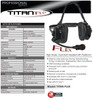 Klein OEM TITAN Flex Dual-Muff High Noise Headset with Flex Boom Microphone. Extreme noise reducing,