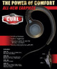Klein CURL is a C-Ring Earloop that can be used with the Left or Right Ear as the Speaker rests on ear for all-day comfort.