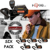 The Six Pack BlackBox Mobile VHF Radio. 16 channel VHF 55 watt two way business radios.