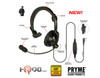 The HLP-SNL series Headset is perfect for users who have to wear headsets for long periods of time.