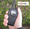 The Kenwood TK3230DX  XLS is compact; 2.05 x 1.17 x 4.07 in.