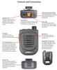 The PrymeBLU BTH-500-ZU is a compact Bluetooth Remote Speaker Lapel Microphone.