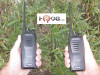 Kenwood's NX-240V16P2 two-way business radio is specially designed for demanding use with clear communications weighs in at only 9.9 ounces with battery. Same physical size as the TK-3402, shown in picture.
