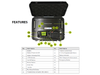 The Blackbox Lunchbox DMR Repeater is Powerful at 8 Watts and comes with a 24,000mAh rechargeable Li-ion Battery.