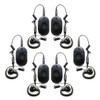 Motorola CLP1080e Six Pack 8CH Two Way Radio with Headset