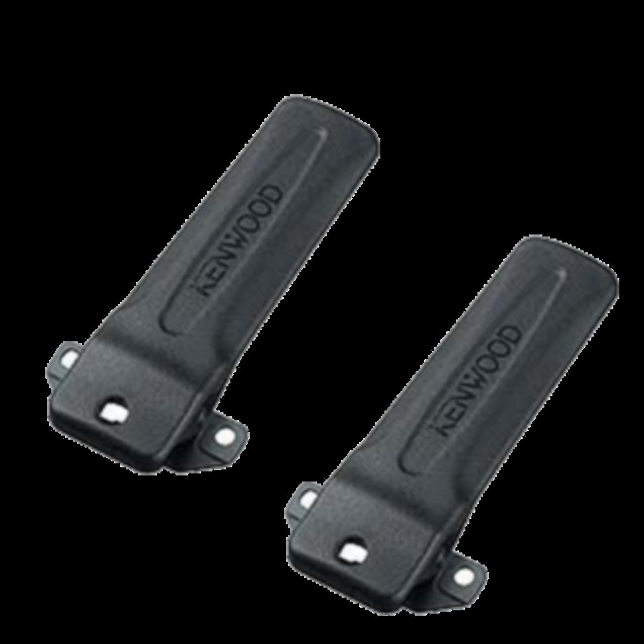 TWAYRDIO KBH-12 Replacement Two-Way Radio Belt Clip for Kenwood Walkie Talkie TK3140 TK2160 TK2360 TK2140 NX-220 TK-2360 NX-320 TK-3360 3 packs