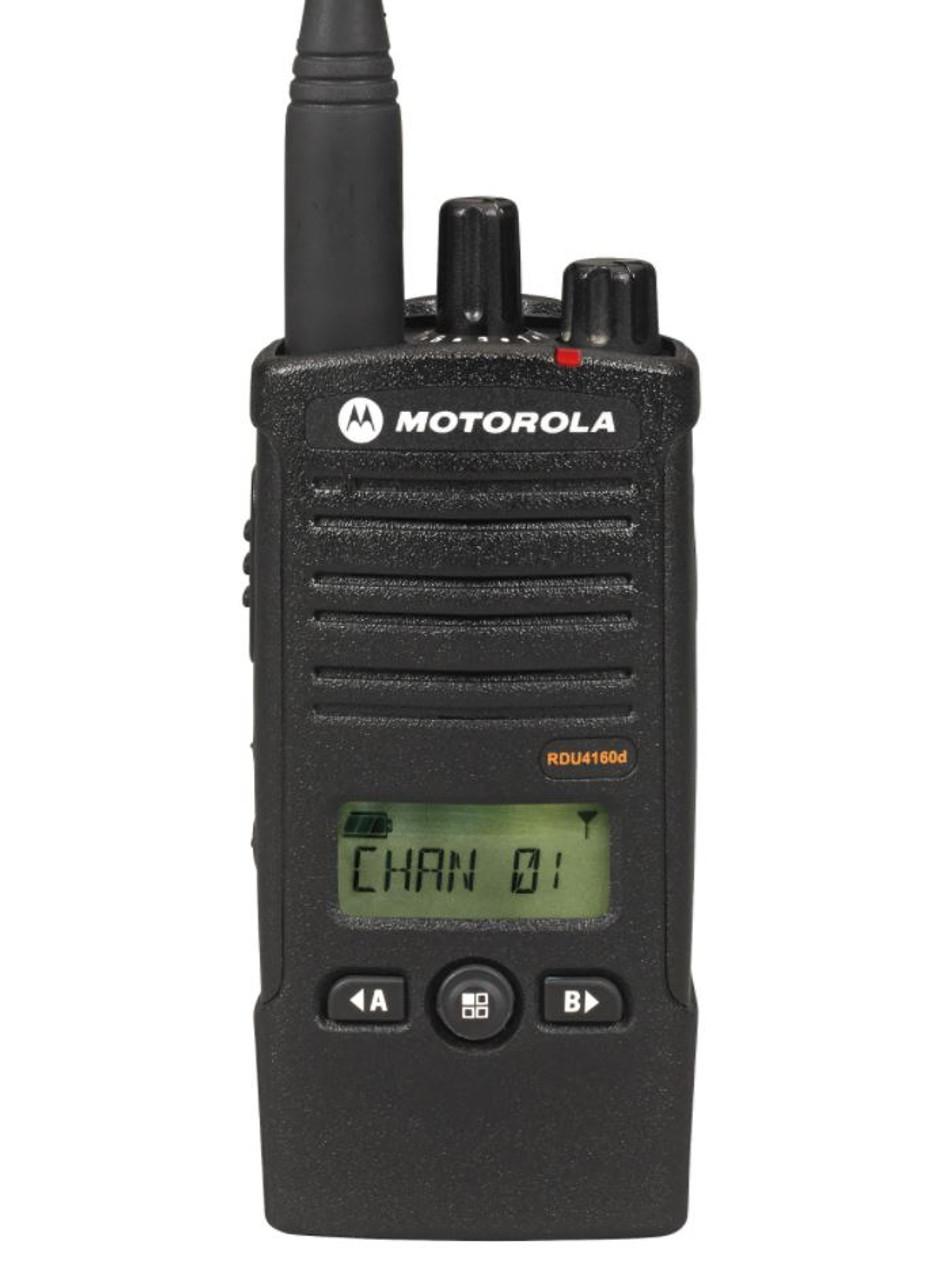 Motorola RDU4160D UHF 16 Channel 4W Professional Radio