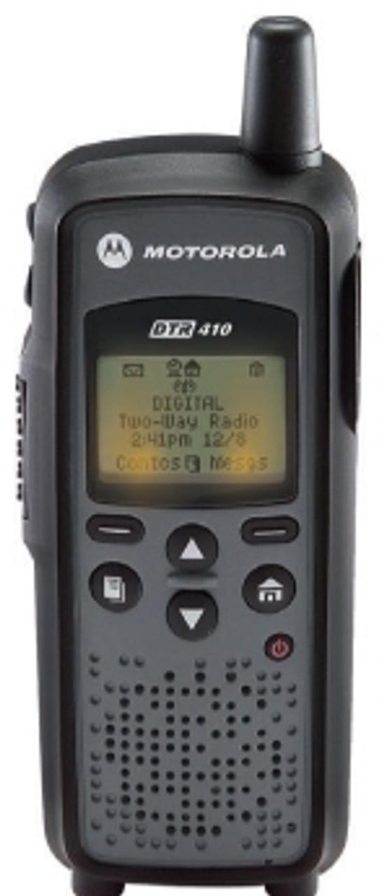 Motorola DTR410 Digital 2-Way 900Mhz Business Radio