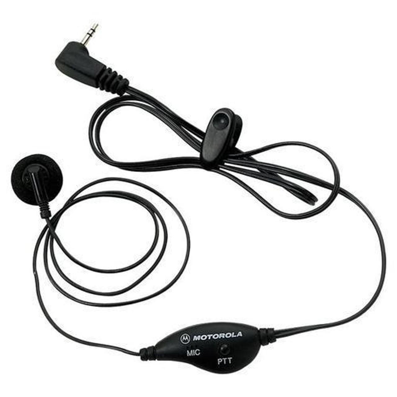 Headset Earpiece PTT Mic for Motorola Talkabout Radio 1 pin T270,T5400,T5600