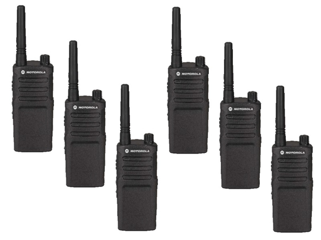 Motorola RMM2050 Six Pack 2-Way 5 Channel MURS VHF Radio