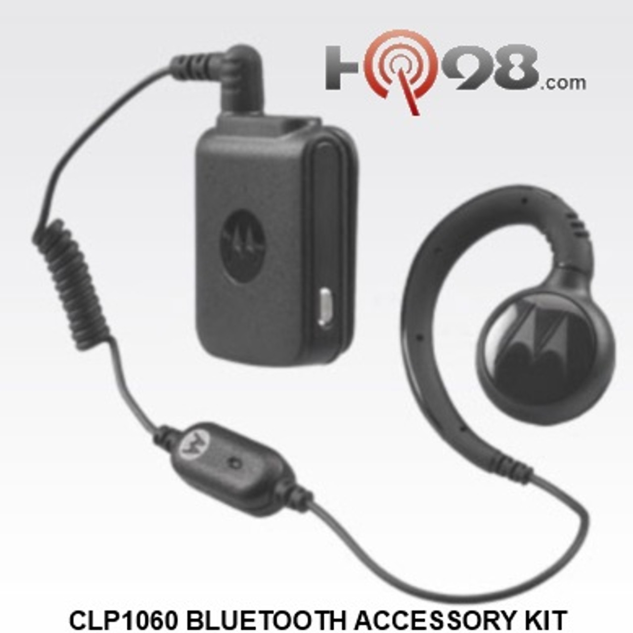 The Clp 1060 By Motorola Bluetooth Accessory Kit Includes The Bluetooth Pod Hkln4512 Swivel Earpiece Hkln4513 And Charger Hkln4509