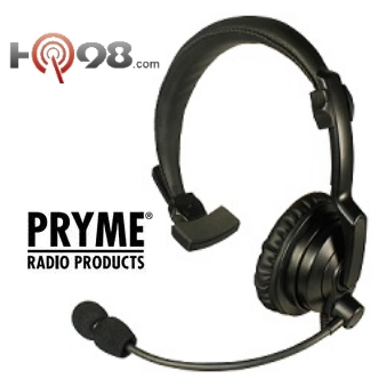 Portable Single Muff Headset PTT Mic for Motorola RMU2080D RMU2040 RMU2080