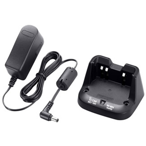 ICOM BC-191 Rapid Charger includes the 110V rapid charger BC-123s for the BP264 battery.  This charger Will NOT charge a Li-ion battery and is compatible with ICOM F3001/F4001 Series Radios.