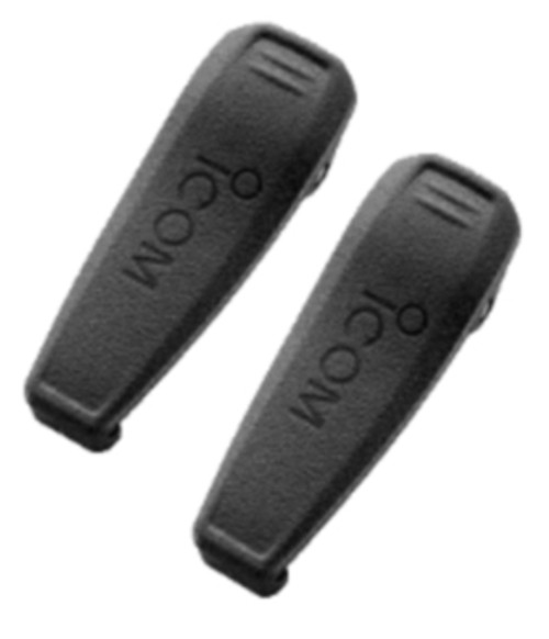 This pair of MB124 belt clips make great spares to keep your radios in service.  Icom quality and HQ98 service, a duo you can't beat.  Fits BP264 and BP265 battery packs.