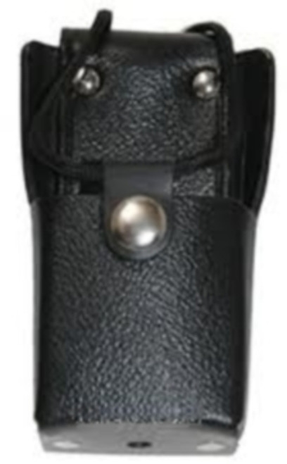 ICF3000 Leather Carry Case with Clip Code by ICOM keeps your radio handy, ready and protected.