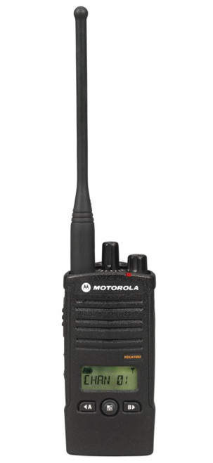 RDU4160d On-Site Two-Way Business Radios uphold that superior standard. Each radio and radio accessory is backed by a limited one-year warranty on parts and labor.