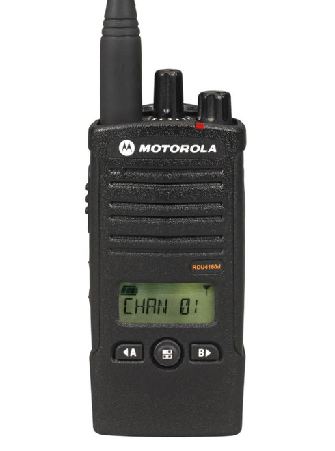 The RDU 4160D by Motorola meets Military 810 C, D, E, F and IP54/55 specifications for shock, rain, humidity, salt fog, vibration, sand, dust, temperature shock, and high and low temperatures.
